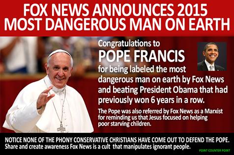 dangerous pope
